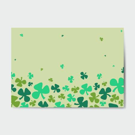 St. Patrick's Day background vector illustration