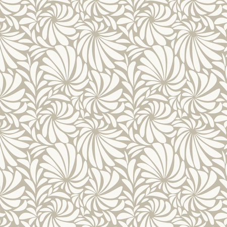 Gold floral patterned background vector