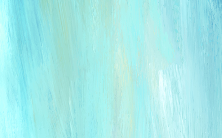 Teal abstract acrylic brush stroke textured background vector Banque d'images - 122626899