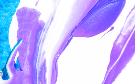 Purple and white abstract acrylic brush stroke textured background vector