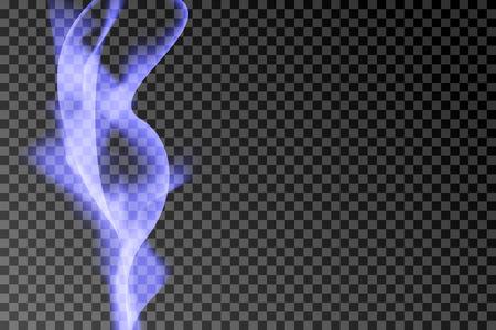 Purple smoke abstract background vector