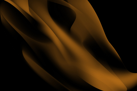 Orange smoke abstract background vector
