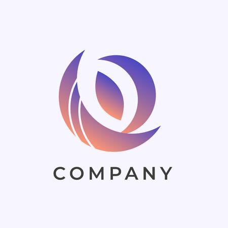 Company branding logo design vector illustration Logo