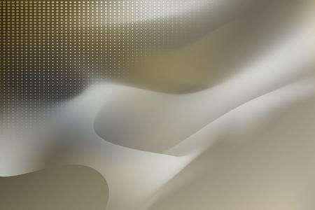 Grauer und gelber abstrakter Hintergrundvektor