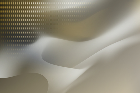 Gray and yellow abstract background vector  イラスト・ベクター素材