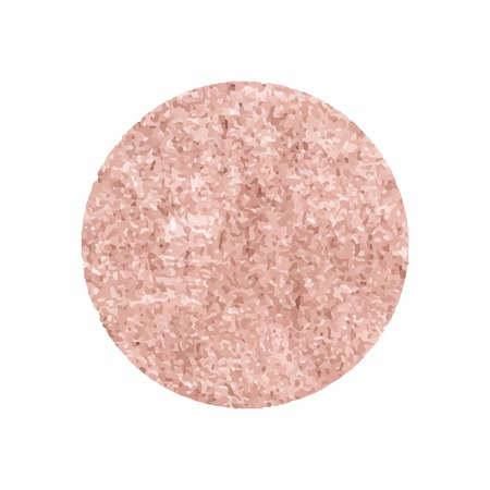 Round pink glittery badge vector illustration 向量圖像