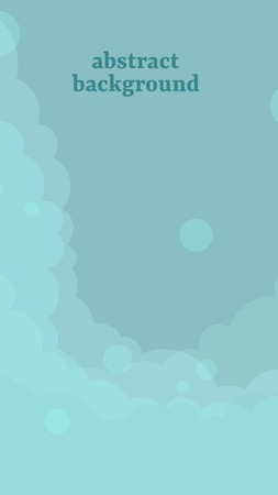 Abstract blue cloudy background vector illustration Stock fotó - 121951587