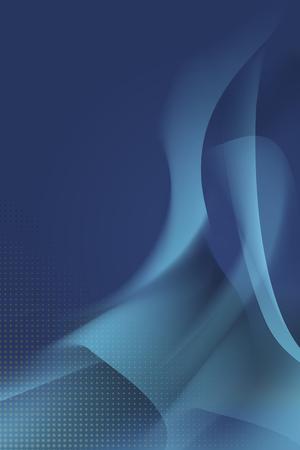 Blue abstract background design vector illustration Illustration