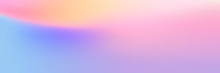 Colorful holographic gradient banner design