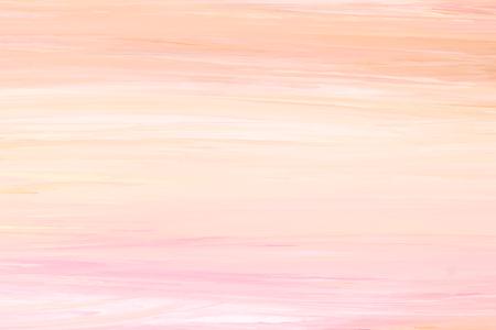 Pastel orange oil paint textured background vector illustration Illustration