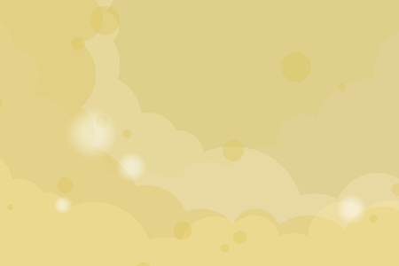 Abstract yellow cloudy background, vector illustration Ilustração