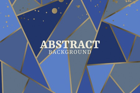 abstract geometric background, vector illustration Stok Fotoğraf - 121951909