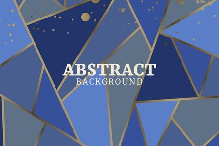 Fondo geométrico abstracto, ilustración vectorial