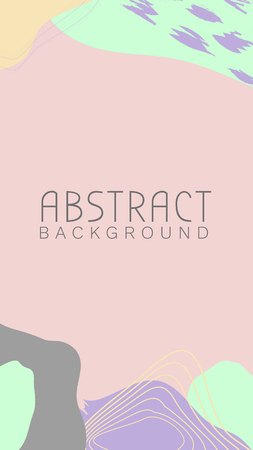 Abstract topographic patterned background, vector illustration