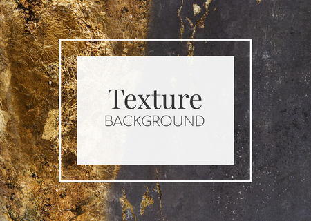 Shiny golden textured background design