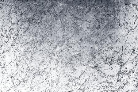 Pintura plateada sobre un fondo rugoso
