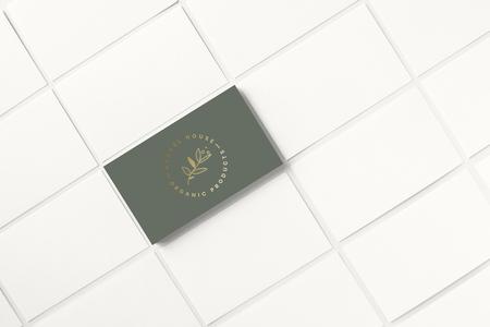 Business card and name card mockup Reklamní fotografie