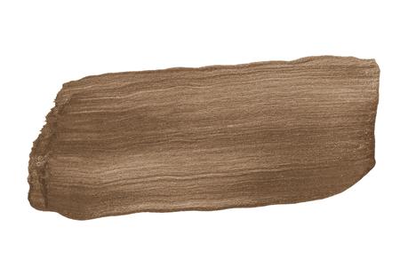 Festive shimmery brown brush stroke 版權商用圖片