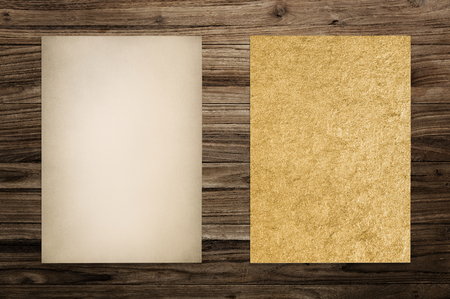 Vintage brown paper textured mockup 版權商用圖片