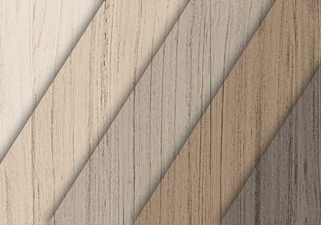 Wooden floorboard samples textured background Stock Photo