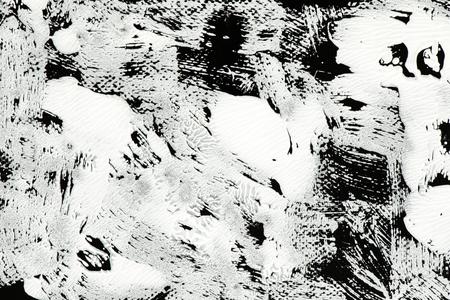 Grunge acrylic brush stroke vector