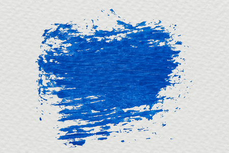 Blue brush stroke sample vector Stok Fotoğraf - 123234755