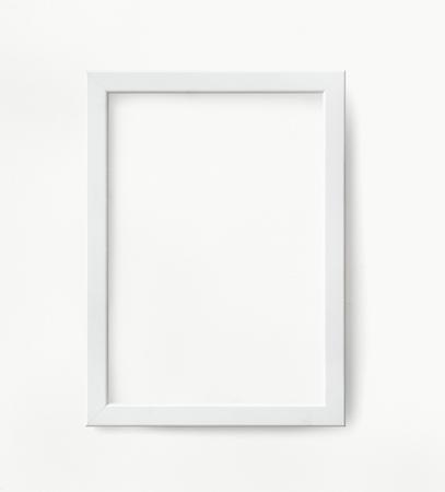 Minimal blank frame mockup design