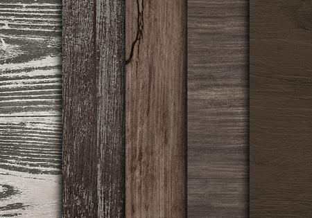 Campioni di assi del pavimento in legno sfondo strutturato Archivio Fotografico