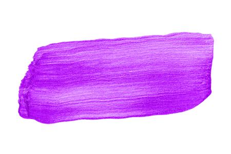 Festive shimmery purple brush stroke