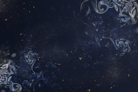 Navy blue smoky art abstract background Фото со стока