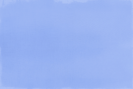 Blue paint on a canvas textured background Archivio Fotografico - 123585721