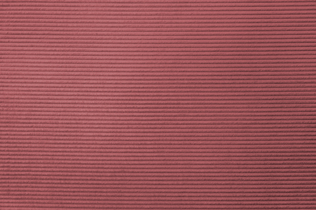 Red corduroy fabric textured background 写真素材