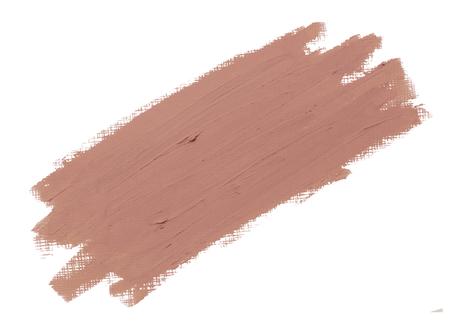 Pink lipstick smudge badge background