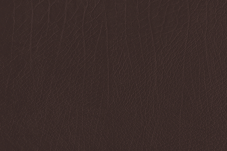 Dark brown creased leather textured background Stock fotó