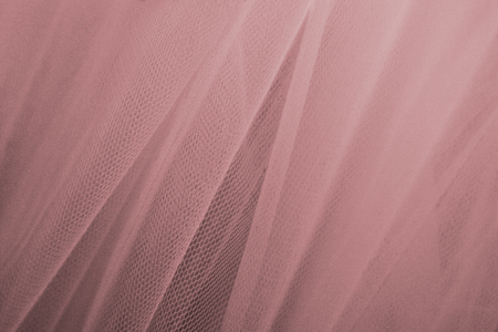Pink tulle drapery textured background Banco de Imagens