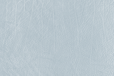 Light blue creased leather textured background Archivio Fotografico - 123598978