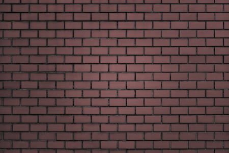 Brownish-red brick wall textured background Banco de Imagens