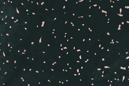 Pink confetti on a black marble textured background Banco de Imagens - 123601523
