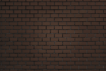 Brown brick wall textured background Banco de Imagens