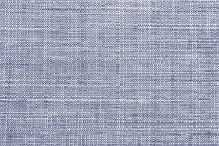 Blue linen textile textured background