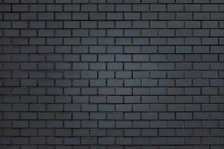 Dark gray brick wall textured background