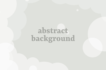 Abstract gray cloudy background, vector illustration Stok Fotoğraf - 123722333