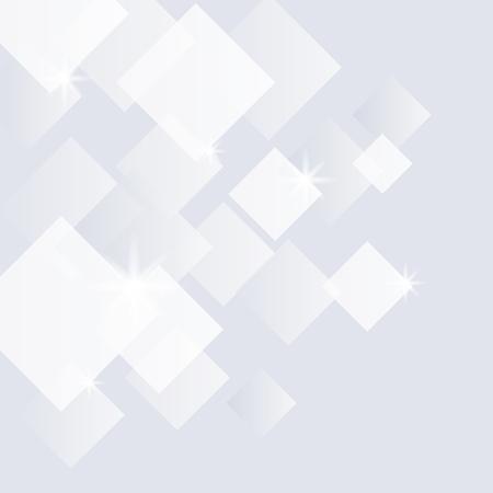 Grauer und weißer strukturierter Kristallhintergrund Vektorgrafik