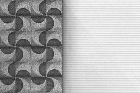 Modern geometric background design vector Stock Photo