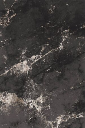 Brownish black marble textured background Banco de Imagens - 124676260