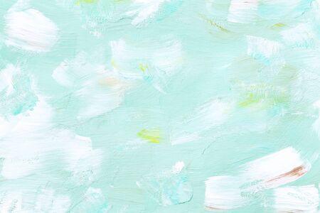 Blue acrylic brush stroke vector Stok Fotoğraf