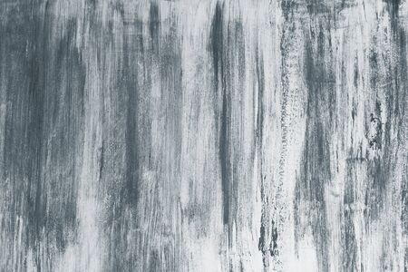 Weathered bluish gray concrete wall textured background Stock Photo