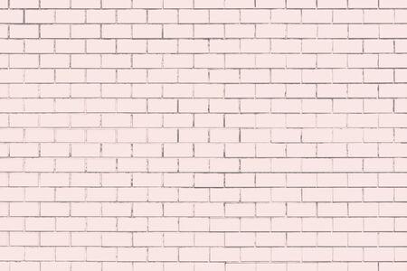Pink textured brick wall background