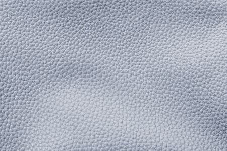 Blue cow leather textured background Archivio Fotografico - 124724534