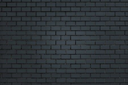 Blue Purple brick wall textured background Banco de Imagens